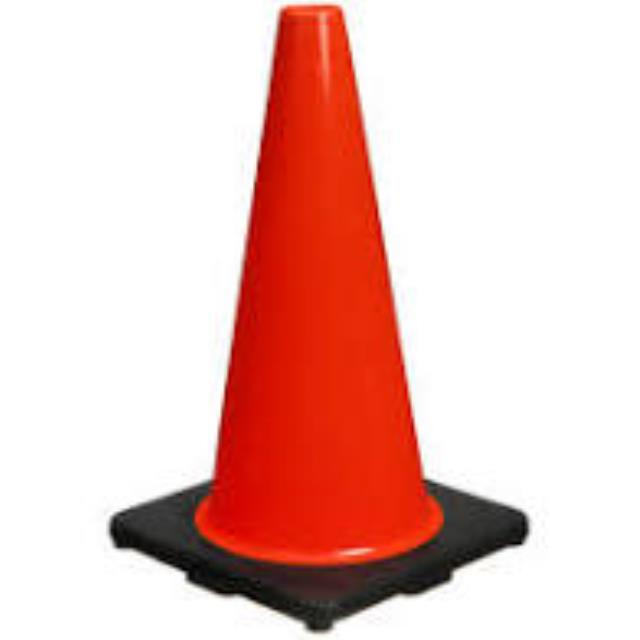 Where to rent SAFETY CONE - 18 in Lebanon TN, Gallatin, Carthage, Mt. Juliet, Murfreesboro,  Smyrna & Nashville