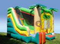 Where to rent JUNGLE 4 IN 1 COMBO INFLATABLE in Lebanon TN