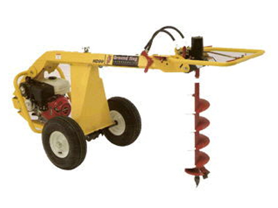 Rent Auger - Post Hole Digger